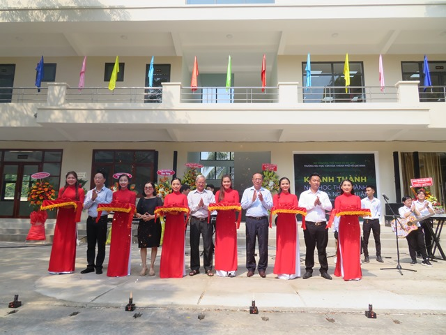 Trường  đại học Văn hóa TP. Hồ Chí Minh Nghiệm thu, khánh thành công trình: Cải tạo, nâng cấp khu nhà D tại Cơ sở 1 thành Nhà học thực hành Văn hóa, Nghệ thuật.