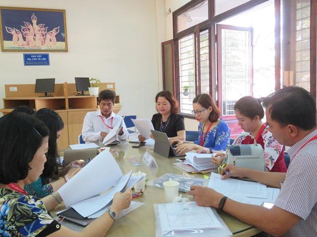 Trung Tâm Thông tin, Thư viện Trường Đại học Văn hóa TP. Hồ Chí Minh góp phần vào thành công chung của Đại hội Đảng bộ Trường.