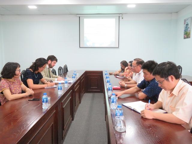 Trường Đại học Văn hóa TP. Hồ Chí Minh làm việc với đoàn đại diện UNESCO tại Việt Nam.