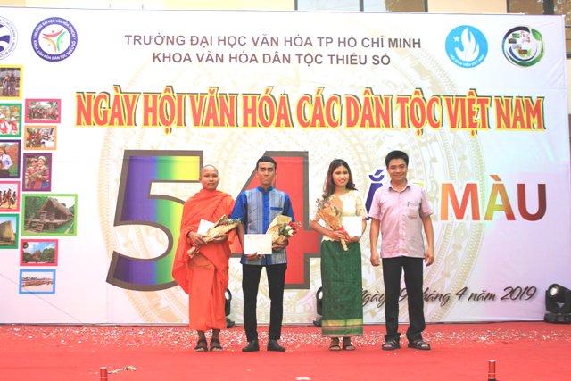 """Sôi động ngày hội văn hóa các dân tộc """"54 sắc màu"""" năm 2019 tại trường Đại học Văn hóa thành phố Hồ Chí Minh"""