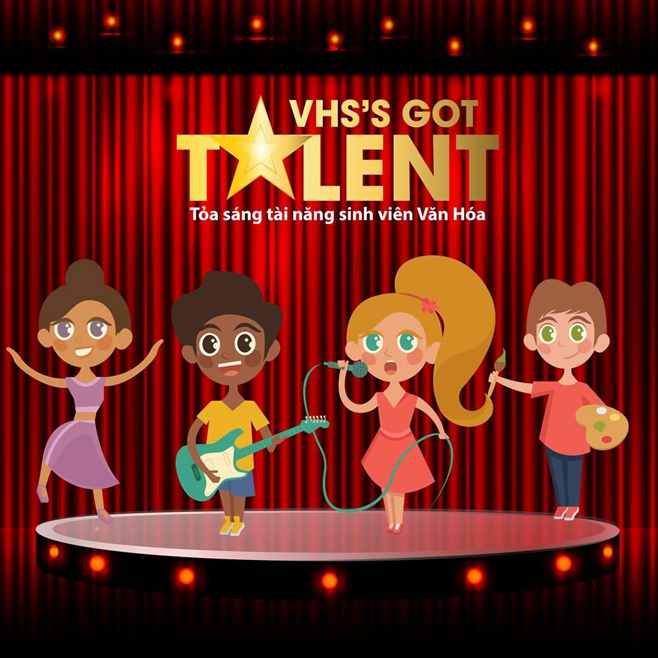 Khởi động cuộc thi VHS'S GOT TALENT - Tỏa sáng tài năng sinh viên văn hóa 2019