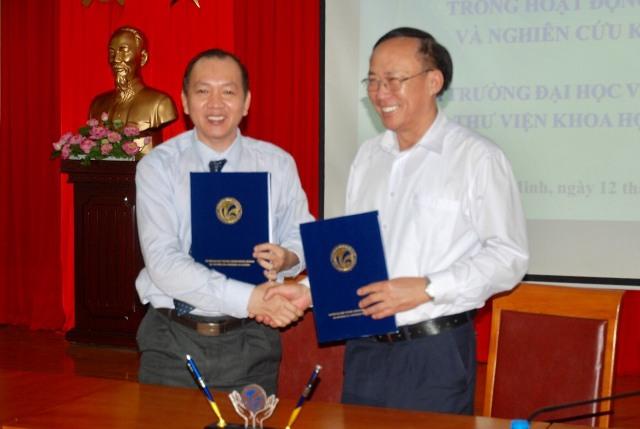 Lễ ký kết Thỏa thuận hợp tác trong hoạt động đào tạo và nghiên cứu khoa học giữa Trường Đại học Văn hóa TP. Hồ Chí Minh và các thư viện