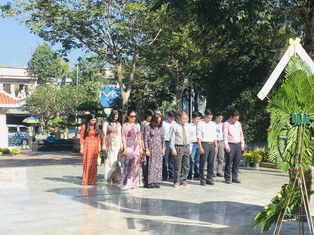 Chi bộ Hành chính 2 về nguồn tại huyện Đất Đỏ, tỉnh Bà Rịa - Vũng Tàu