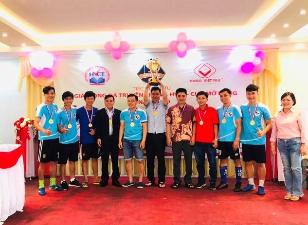 Đội tuyển bóng đá nam mini Trường Đại học Văn hóa TP. Hồ Chí Minh vô địch Cúp HVCT năm 2020.