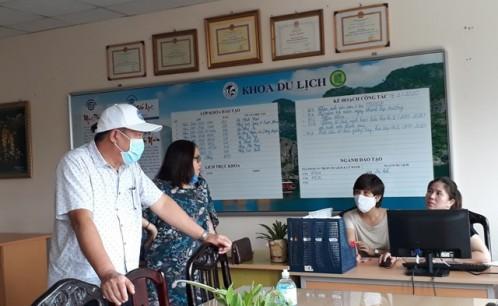 Trường Đại học Văn hóa TP. Hồ Chí Minh tích cực, chủ động phòng, chống dịch bệnh viêm đường hô hấp cấp do chủng mới của virus corona (COVID-19)
