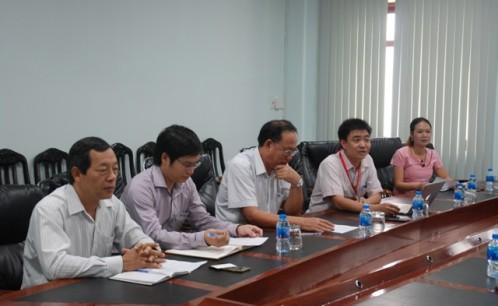 Trường Đại học Văn hóa TP. Hồ Chí Minh làm việc với đại diện Công ty Cổ phần Vinpearl