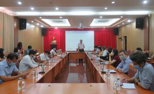 Trường Đại học Văn hóa TP. Hồ Chí Minh họp khẩn về công tác phòng chống dịch Covid-19.