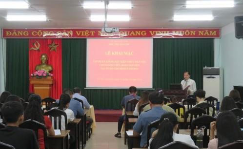 Khai mạc tập huấn giảng dạy kiến thức dân tộc cho giảng viên, báo cáo viên tại TP. Hồ Chí Minh năm 2019