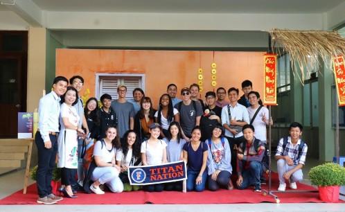 Giao lưu văn hóa giữa sinh viên Trường Đại học Văn hóa TP. Hồ Chí Minh và sinh viên Trường Đại học California State, Fullerton