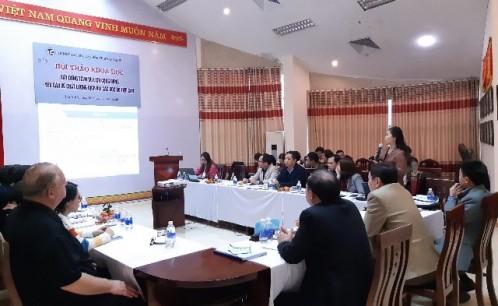 """Hội thảo khoa học """"Xây dựng TCVN du lịch cộng đồng - Yêu cầu về chất lượng dịch vụ: Các góc độ tiếp cận"""""""