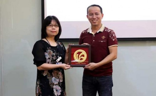 Đoàn học viên lớp cao học Thư viện khóa I tham dự đợt học tập, khảo sát thực tế và tham quan thư viện tại Thái Lan.
