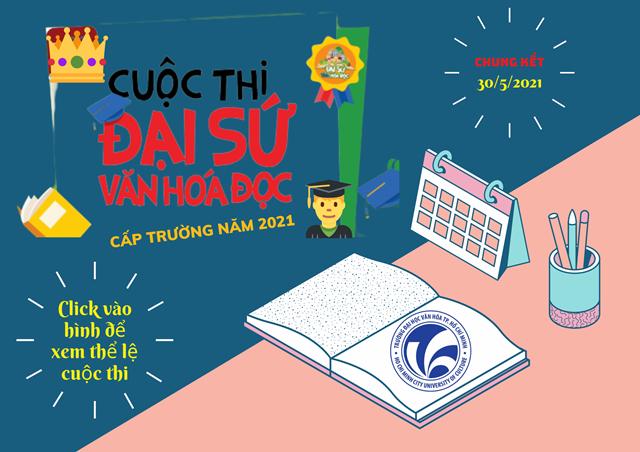Thông báo Tổ chức Cuộc thi Đại sứ Văn hóa đọc năm 2021 - Cấp trường