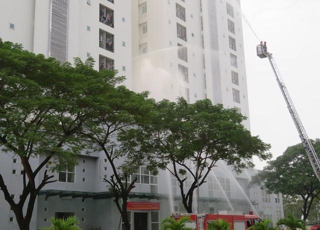 Ký túc xá Trường Đại học Văn hóa TP. Hồ Chí Minh tổ chức tập huấn công tác phòng cháy chữa cháy và cứu nạn cứu hộ năm 2020.