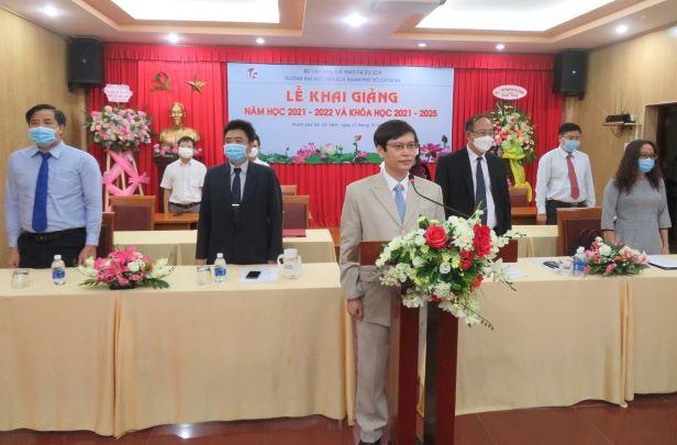 Trường Đại học Văn hóa TP. Hồ Chí Minh tổ chức trực tuyến Lễ khai giảng năm học mới 2021-2022 và khóa học 2021-2025.