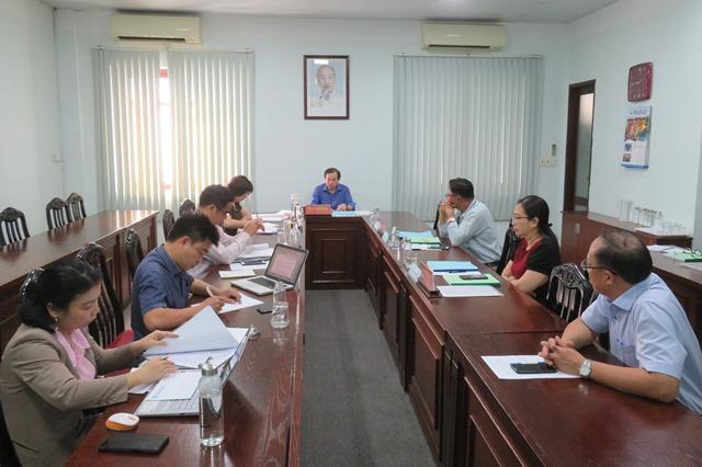 Trường Đại học Văn hóa TP. Hồ Chí Minh tổ chức nghiệm thu 04 giáo trình cấp Bộ phục vụ cho công tác giảng dạy.