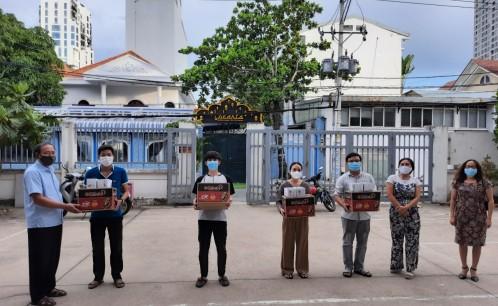 Ấm áp tình Thầy – Trò Trường Đại học Văn hóa TP. Hồ Chí Minh giữa đại dịch COVID-19