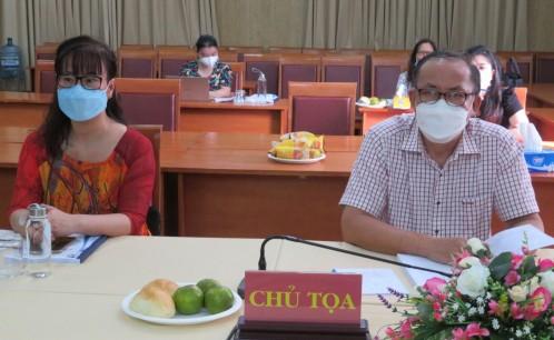 """Trường Đại học Văn hóa TP. Hồ Chí Minh tổ chức thành công hội thảo khoa học với chủ đề  """"Chương trình dạy học tiếng Anh theo chuẩn đầu ra các ngành nghề đào tạo trình độ đại học lĩnh vực văn hóa"""""""