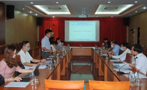 Kỳ họp thứ nhất Hội đồng trường nhiệm kỳ 2020-2025